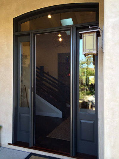Front Door Screens Clearview Screens And Shades
